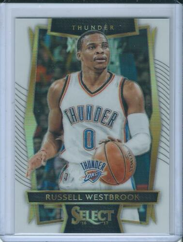 201617 Panini Select White Prizm Concourse Russell Westbrook 149