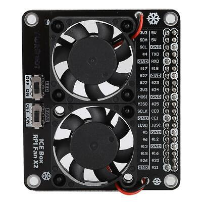 New GPIO Extension Board LED for Raspberry Pi 4B//3B+//3B//3A+ Cooling Fan