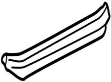 67917-60151-B0 Toyota Plate glide door scuff 6791760151B0 New Genuine OEM Part