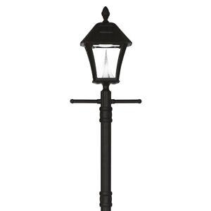 Gama Sonic Baytown Solar Lamp Post W Planter Base Porch Patio 106pl
