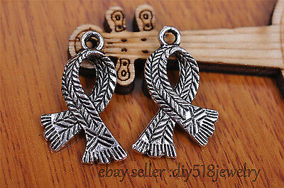 10s 23*17mm hope scarf Pendant Charm style Tibet silver diy jewelry making 7090