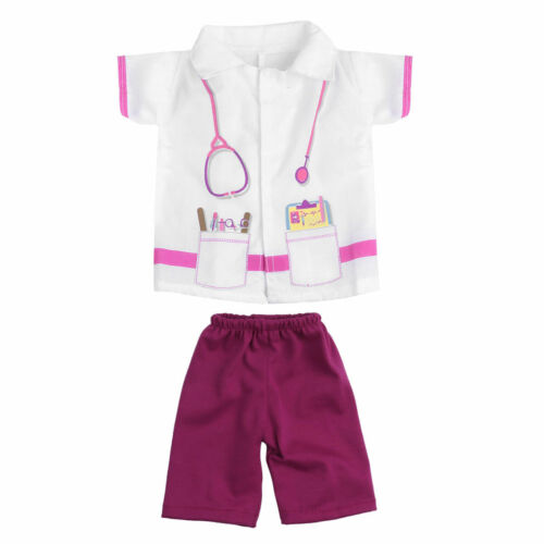 2//7 Set Doctor Nurse  Doll Clothes For 18 inch Our Generation My Life Dress up