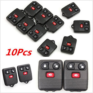 10-Keyless-Entry-Remote-Control-Key-Fob-Clicker-Transmitter-Replacement-For-Ford