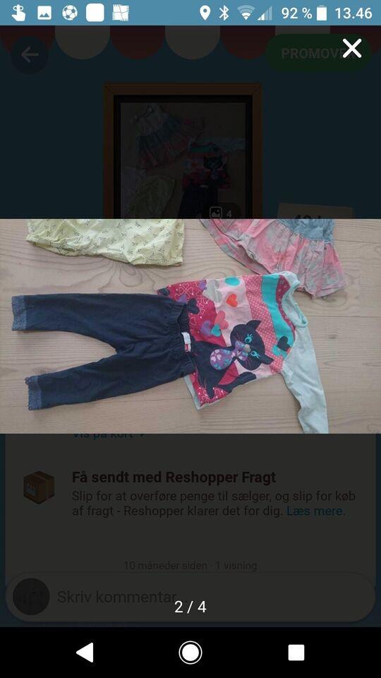 Blandet tøj, Sommerpakke, str. 74
