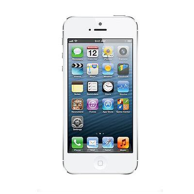 APPLE IPHONE 5 16GB WEISS OHNE SIMLOCK OHNE VERTRAG - TOP SMARTPHONE
