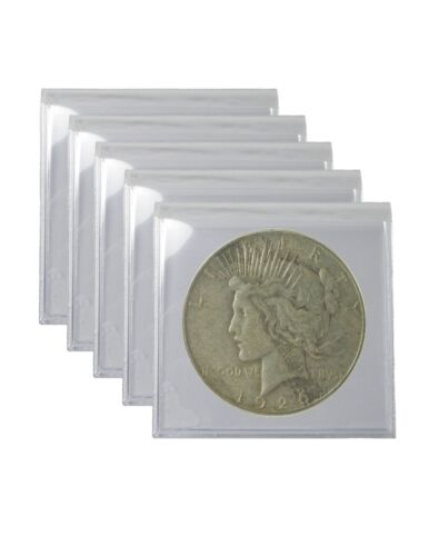 1922-1926 Silver Peace Dollar VG Lot of 5 S$1 Circulated Coins