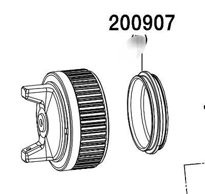 SATA MiniJet 4400 Fluid Tip Element Seal 199455