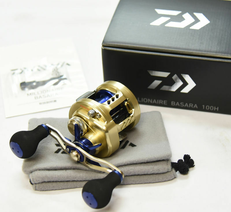 Last One    Daiwa MILLIONAIRE BASARA 100H (RIGHT HANDLE) BaitCasting Reel  here has the latest