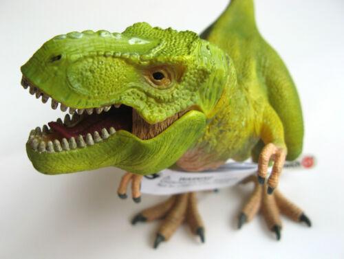 Schleich Tyrannosaurus T Rex Dinosauro 14528-VERDE CHIARO-NUOVO di zecca con etichette!
