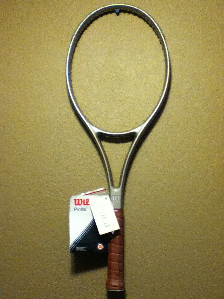 WILSON ORIGINAL PROFILE 2.7 95 MIDSIZE TENNIS RACQUET 4-3 8  RARE NEW FREE SHIP