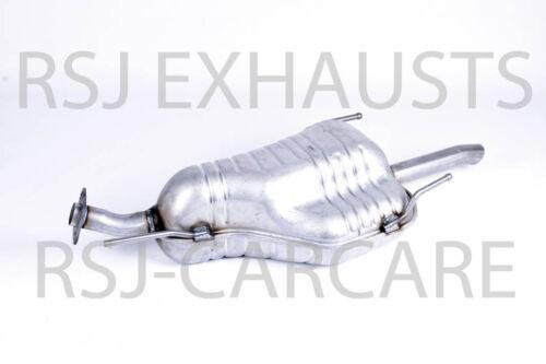 A EXHAUST SILENCER VAUXHALL ZAFIRA Mk I 1.6 16V Petrol 1999-04-/> 2005-08
