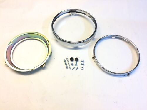 Triumph Bonneville 800//865 Replacement Headlight Rim Set New