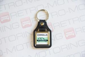 Toyota-Corolla-AE92-GT-Keyring-Leatherette-Retro-Classic-Car-Auto-Keytag
