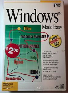 PRO-ONE-WINDOWS-MADE-EASY-IBM-TANDY-3-5-DISK