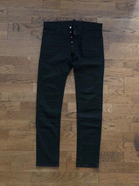 Dsquarot2 Jeans Cool Guy Khaki-Dunkelgrün Gr. 48