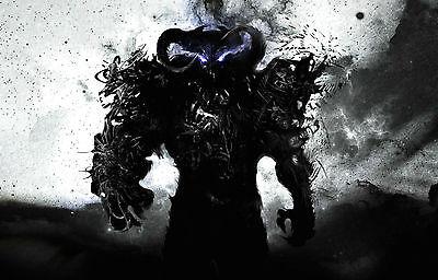 Gerahmter Druck Gothic Horror Bild Plakat Sensenmann The Harbinger Of Death