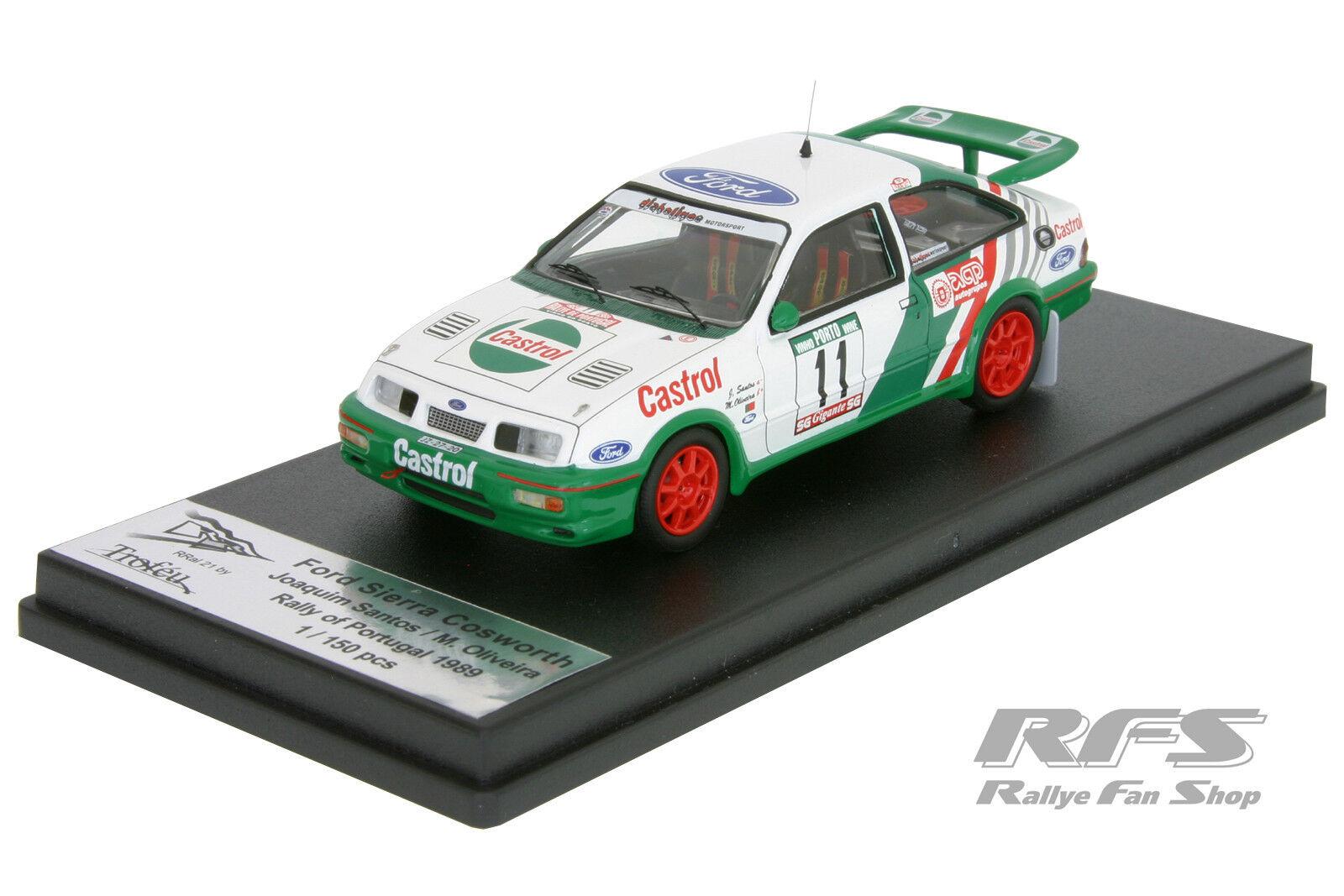 1 43 Ford sierra sierra sierra rs cosworth-santos Oliveira-rallye portugal 1989-trofeu 6a5903
