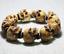 Chinese Antlers HandCarved Human Skull Head Buddha Beads Fashion Men/'s Bracelet