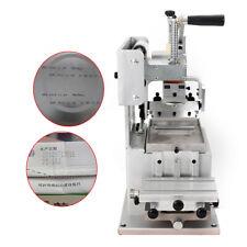 1single Color Manual Pad Printing Machine Opened Ink Dish Printing Area 8080mm