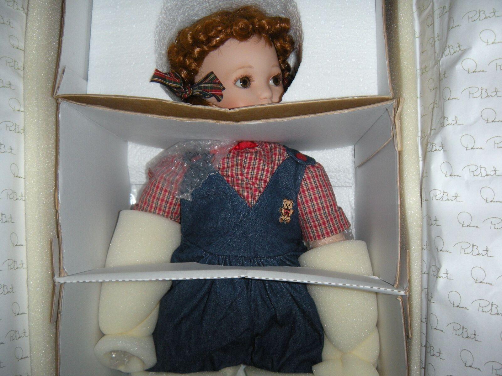 Mujer Rubert Bebé Hannah 25 25 25  Porcelana & Cloth & Perro 0916 1000 en todo el mundo cert. de autenticidad  cómodamente