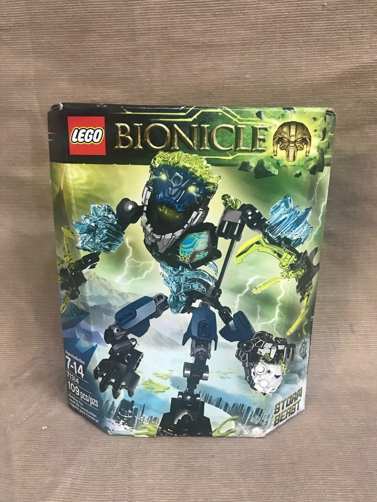 NEW LEGO Bionicle Storm Beast 71314 - ReStiefel Ultrabuild Hunter Ice Water Mask