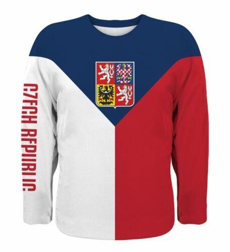 NEW Team Czech Republic 2019 Hockey Jersey JAGR HERTL VORACEK ERAT HUDLER HEMSKY