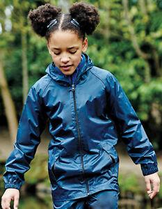 Regatta Kids` Pro Stormbreak Waterproof Jacket Regenjacke Kinder Bekleidung Regenbekleidung
