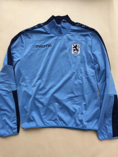 Trainingstop Sweatshirt TSV 1860 München macron Größe M  SALE SALE SALE
