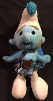 Smurfs 11 In. Plush Smurf Doll With Kilt