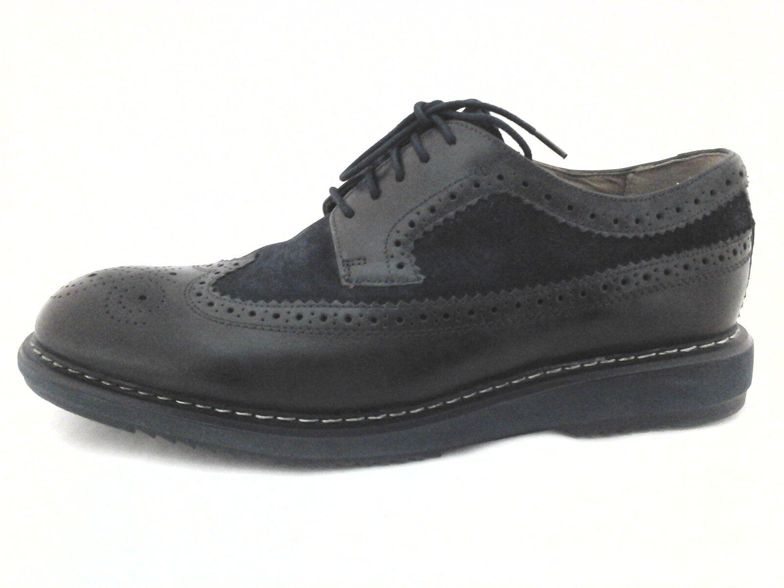 Clarks Árbol Para Para Para hombres Zapatos Oxford Punta De Ala Negro Marina Extralight US 10.5 9b2a26