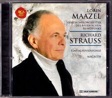 Lorin MAAZEL Richard Strauss Eine Alpensinfonie Macbeth CD Bayerischen Rundfunks