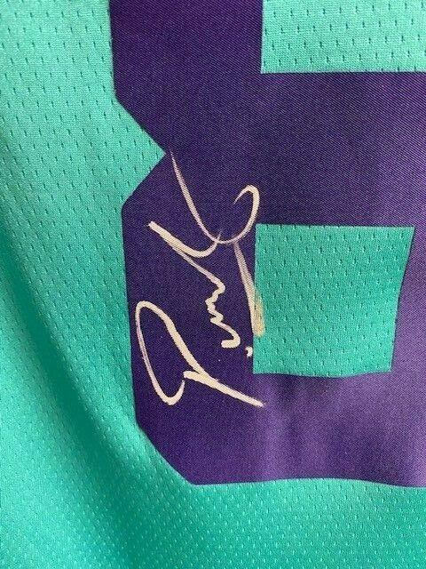 Charlotte Hornets #8 Bismack Biyombo NEWCity Edition Swingman Jersey