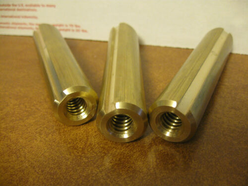 """16/"""" South Bend Lathe 14.5 20/"""" /& 24/"""" Brass Telescoping Steady Rest Jaws//Fingers"""