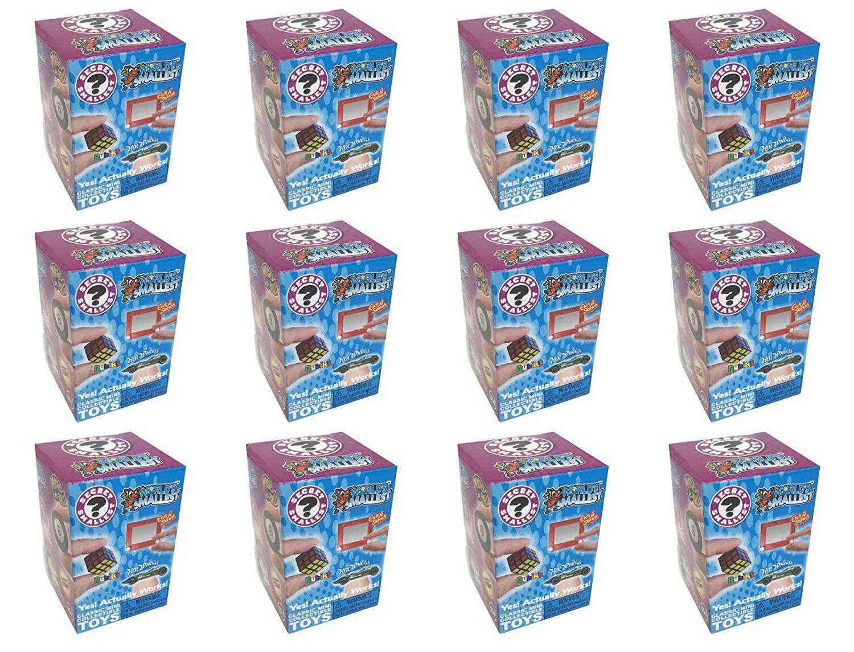 Worlds Smallest Clásico Novedad Juguete Serie 1 Azar Cajas 12 Conde