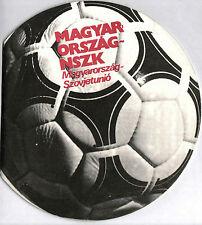 Länderspiel 07.09.1983 Ungarn - Deutschland / UdSSR (Olympia)