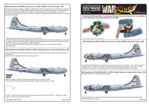 Kits-World 1//72 B-29 Superfortress # 72036