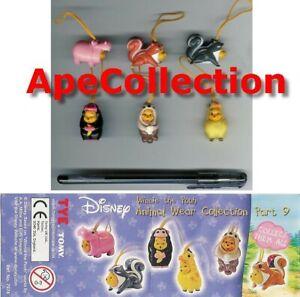 Set-6-Figuras-Winnie-Pooh-Animal-Wear-Part-9-TOMY-Mini-Winnies-Figures-Italia