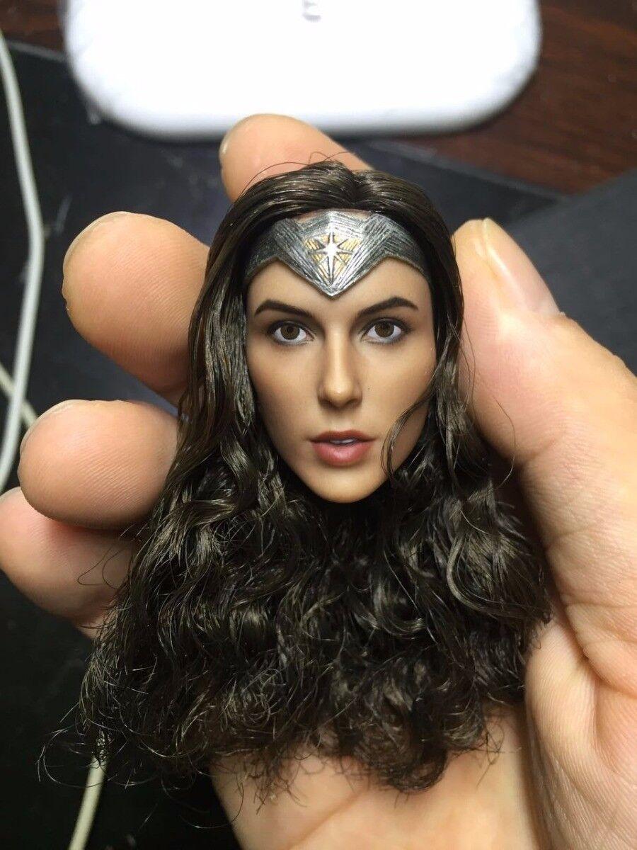 Wonder Woman 1 6 Gal Gadot Head Sculpt Fit 12'' PHICEN Female Action Figure Body