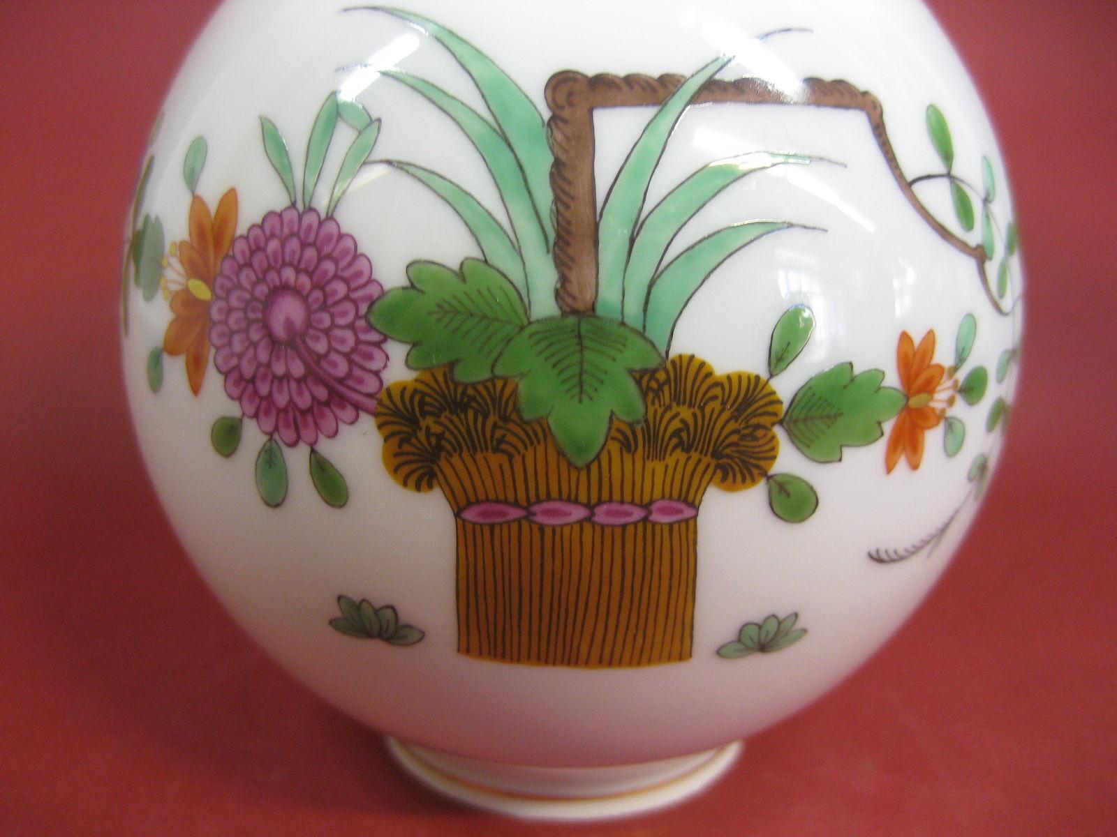 Meissen Garbenmuster Vase 1 Wahl  bluemenvase Top Zustand Höhe  12,5 cm