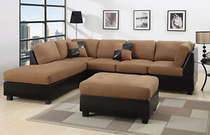 Sectional Sofas Loveseats And Chaises EBay - Sectonal sofa