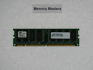Intelligent Mem3660-64d 64 Mo Approved Dram Dimm Mémoire Pour Cisco 3660 Routeur Riche En Splendeur PoéTique Et Picturale