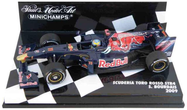 Minichamps Toro Rosso STR4 2009-Sebastien Sebastian Bourdais escala 1/43