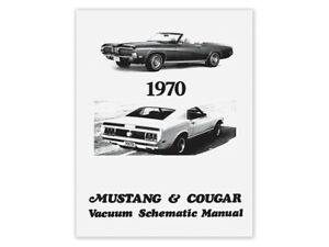 image is loading new-1970-mustang-vacuum-schematic-manual-diagram-boss-