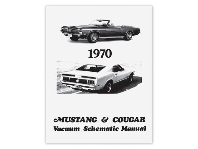 Vacuum Schematic Manual 1967 Mustang Shelby For Sale Online Ebay