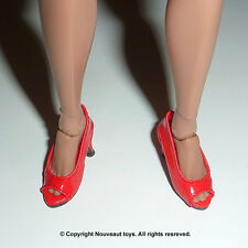 1/6 Scale Phicen, Kumik, Hot Toys, ZC, NT Female Red Open Toe High Heel Shoes
