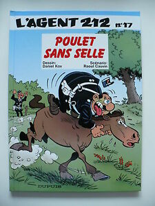EO-neuf-Agent-212-tome-17-Poulet-sans-selle-Kox-Cauvin
