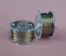 Tinned Copper WIRE 1/0.25mm 2 REELS OF 19m RRP-T-104 (PK2)  0.25MM FUSE WIRE