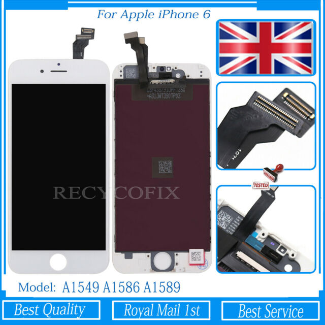 For Apple iPhone 6 Screen Replacement Touch LCD Display Digitizer Assembly White