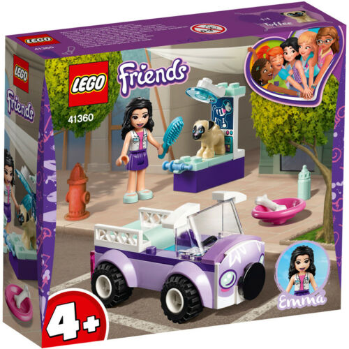 Lego Friends Emma/'s Mobile Vet Clinic Building Set NEW 41360