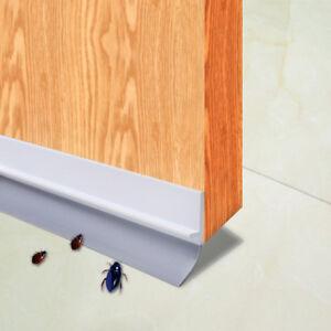 Image is loading 3-3ft-Under-Door-Draft-Stopper-Sweep-Weather- & 3.3ft Under Door Draft Stopper Sweep Weather Stripping Door Bottom ...
